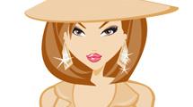 Mujer de marrón