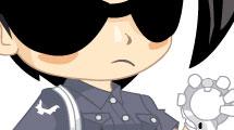 Mujer policía anime