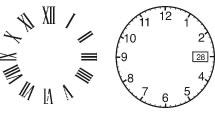Números del Reloj