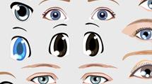 Ojos para ilustraciones