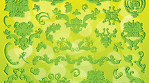 Ornamentos verdes