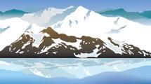 Paisajes con montañas