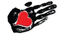 Palmas con corazones