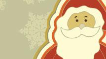 Papá Noel retro