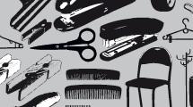 Paquete de objetos varios en negro