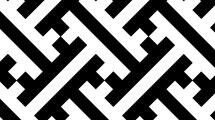 Patrón en blanco y negro