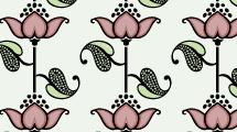 Patrón Floral 4