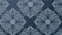 Patrón floral gris