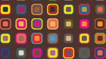 Patrón geométrico multicolor