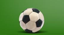 Pelota de fútbol realista