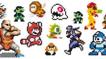 Personajes 8-bit de videojuegos