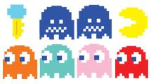 Personajes de Pacman completos
