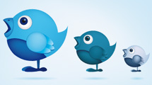 Personajes de Twitter de perfil