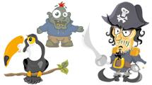 Personajes varios