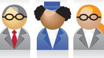 Personas de diferentes razas