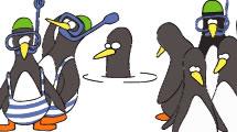 Pingüinos Buceadores