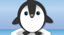 Pinguino tierno