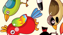 Pájaros divertidos