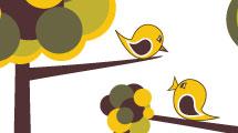 Pájaros naif