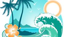 Playa y olas