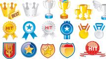 Premios, copas y medallas variadas