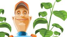 Profesiones: jardinero
