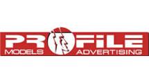 Logo Profile Models advertising