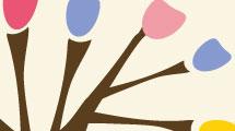 Árbol de pinceles