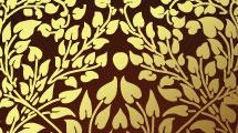 Árbol dorado abstracto