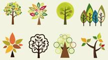Árbolitos decorativos