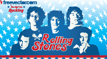 Rolling Stones en celestes