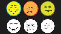 Rostros con emociones