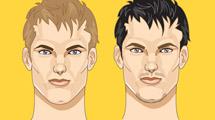 Rostros masculinos