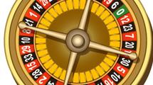 Ruleta realista con números inluídos