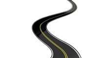 Ruta con curvas