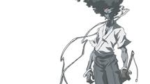 Samurai con afro
