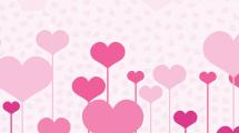 San Valentín rosa