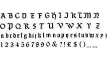 Logo Seagram alphabet