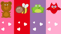 Señaladores de San Valentín
