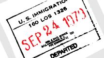 Sello de Deportación