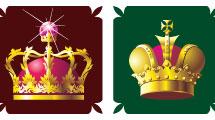 Set con coronas