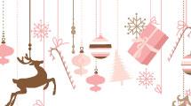 Set con fondos de Navidad