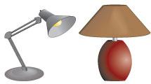 Set de lámparas