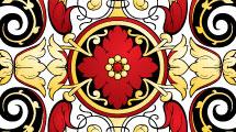 Set de líneas ornamentales
