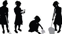 Set de tareas domésticas