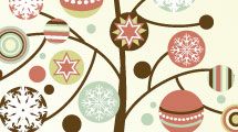 Set árboles de Navidad 2