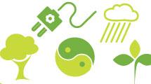 Set: símbolos de ecología