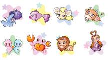 Signos del zodíaco infantil