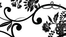 Silueta floral