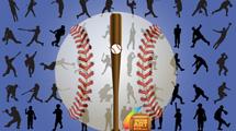 Siluetas de Baseball